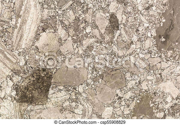 Brown marble with a beautiful pattern. background - csp55908829