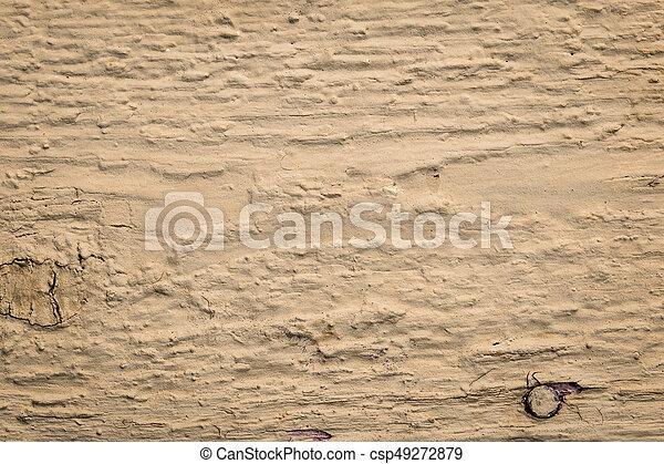 brown painted wood background - csp49272879