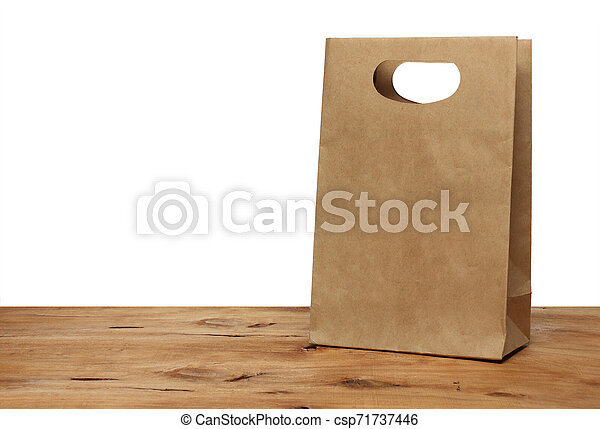 Brown Paper Bag - csp71737446