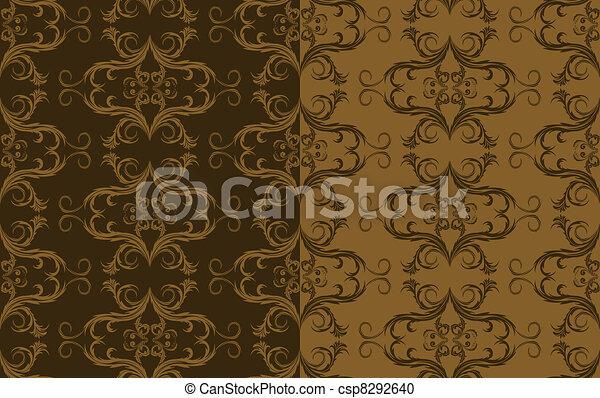brown pattern - csp8292640
