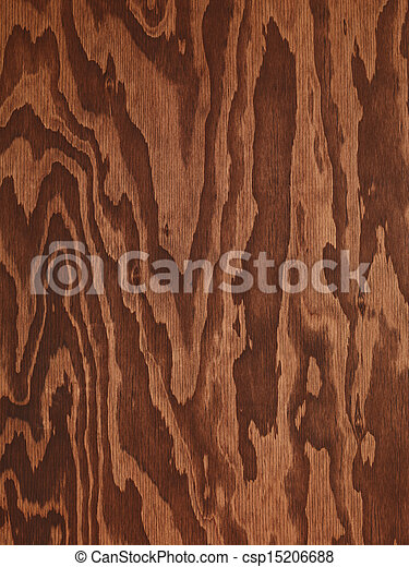 Brown plywood abstract wood texture - csp15206688