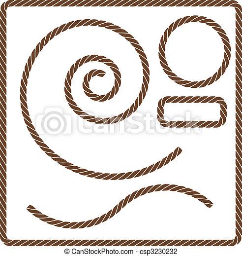 Brown Rope Set - csp3230232