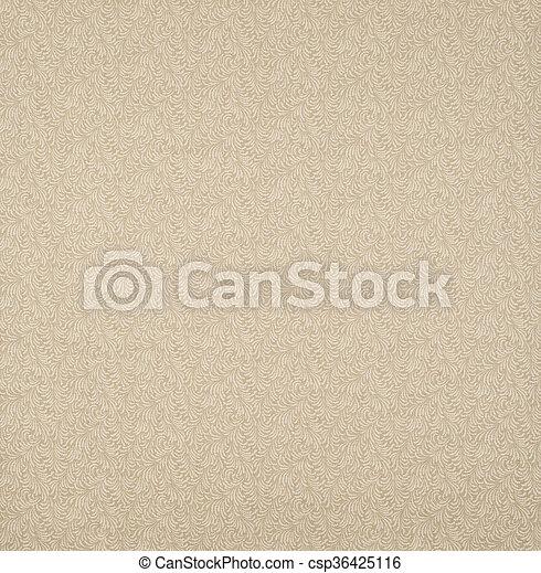 Brown Ruffles Design Wallpaper Swatch - csp36425116