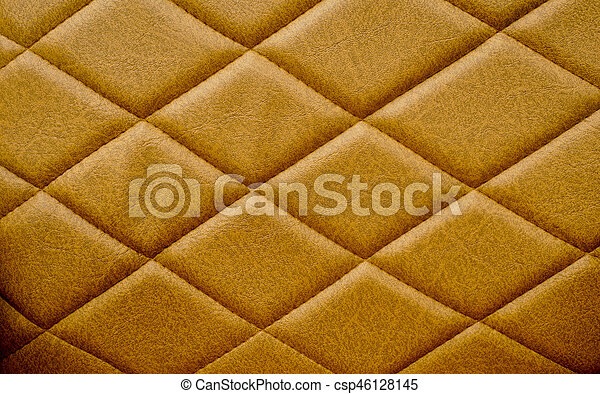 Brown Seamless Leather Sofa Texture Pattern Background