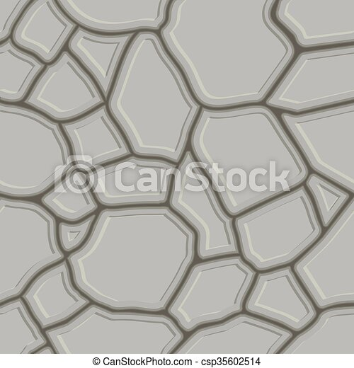 Brown stone seamless background. - csp35602514