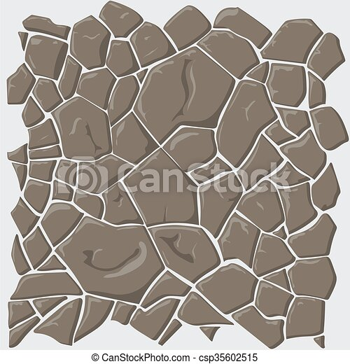 Brown stone seamless background - csp35602515