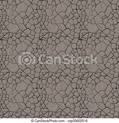 Brown stone seamless background.  - csp35602516