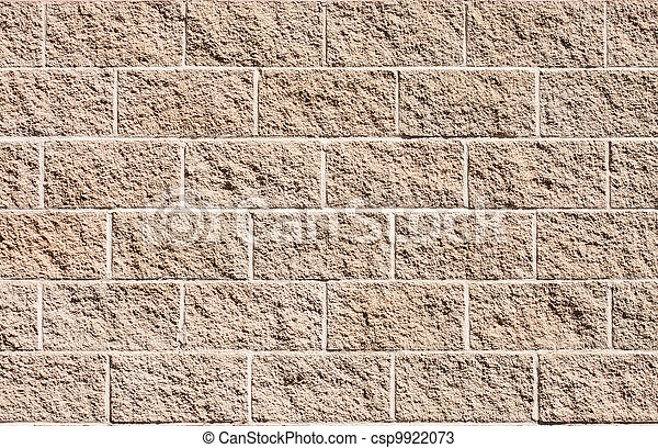 Brown Stone Wall for Background - csp9922073