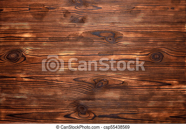 Brown textural background natural wood - csp55438569