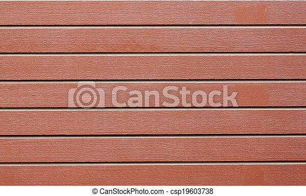 Brown wood pattern. - csp19603738