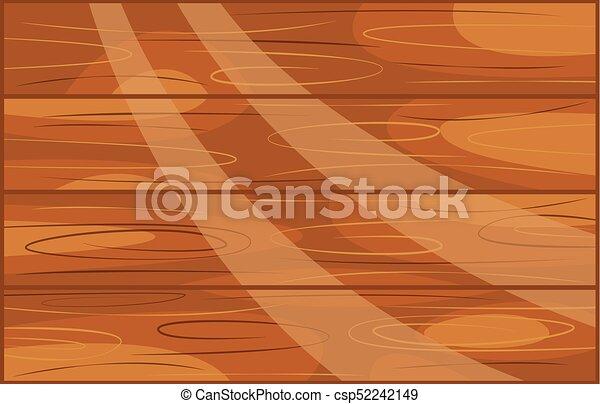 Brown Wood Plank Cartoon For Design   Csp52242149