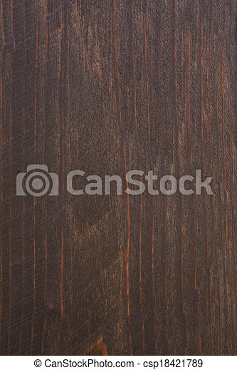 brown wooden background - csp18421789