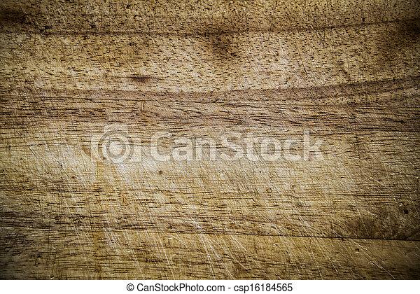 brown wooden background - csp16184565
