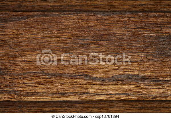 brown wooden background - csp13781394
