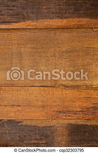 brown wooden background - csp32303795