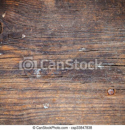 Brown wooden background - csp33847838
