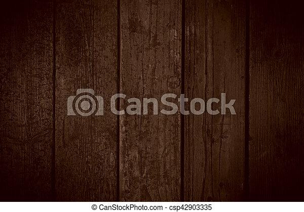 brown wooden background - csp42903335