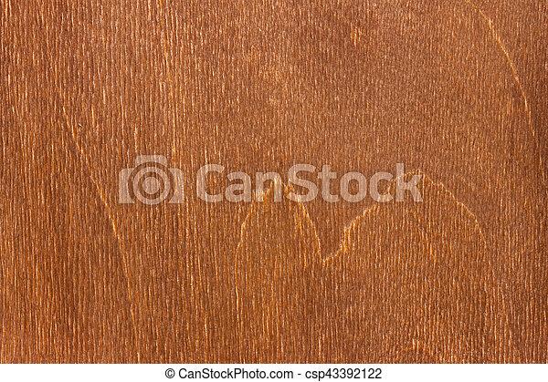 brown wooden surface - csp43392122