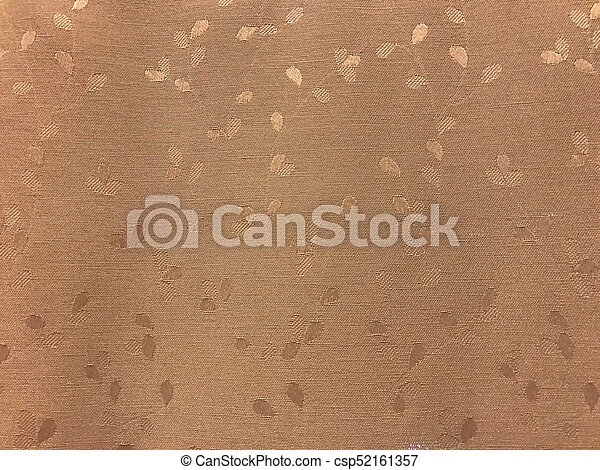 Brown wooven fabric texture - csp52161357