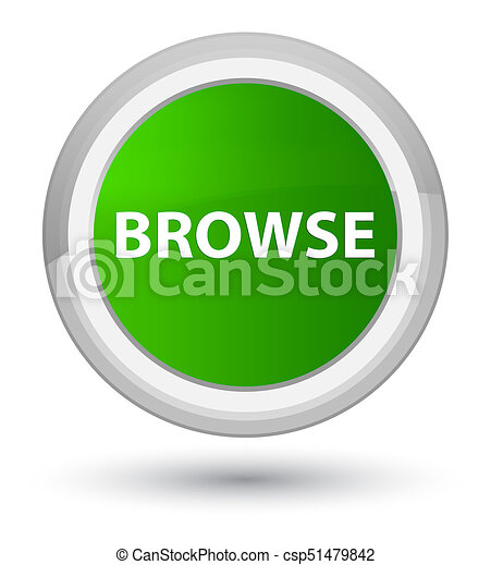 Browse prime green round button - csp51479842