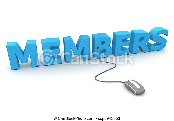 Browse the Blue Members - Grey Mouse - csp5943353