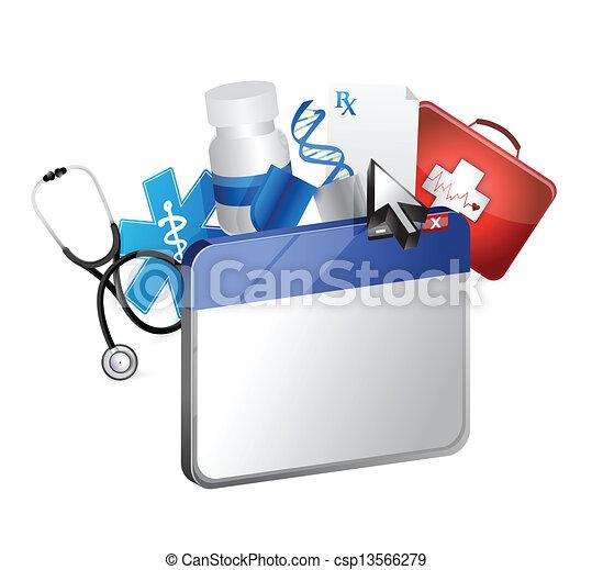 browser medical concept - csp13566279