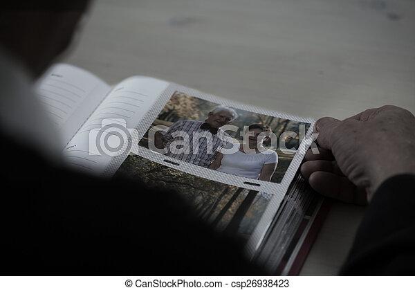 Browsing the album - csp26938423