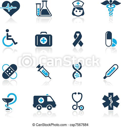 &, /, brughiera, medicina, azzurro, cura - csp7567684