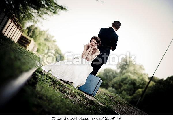 bruid, bruidegom - csp15509179