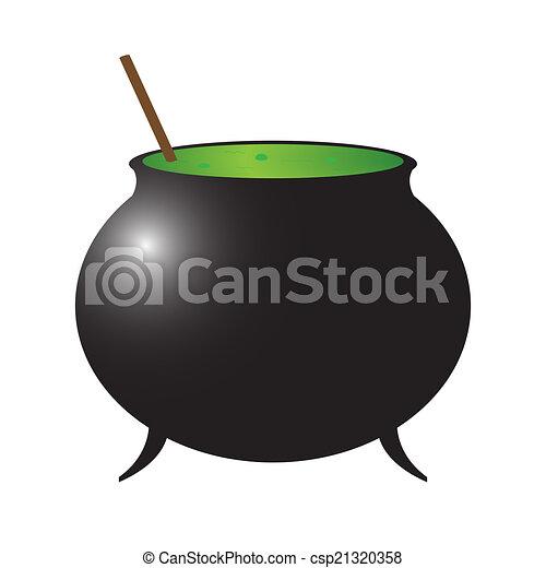 El caldero de brujas - csp21320358