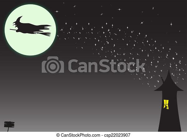 El rastro de las brujas - csp22023907