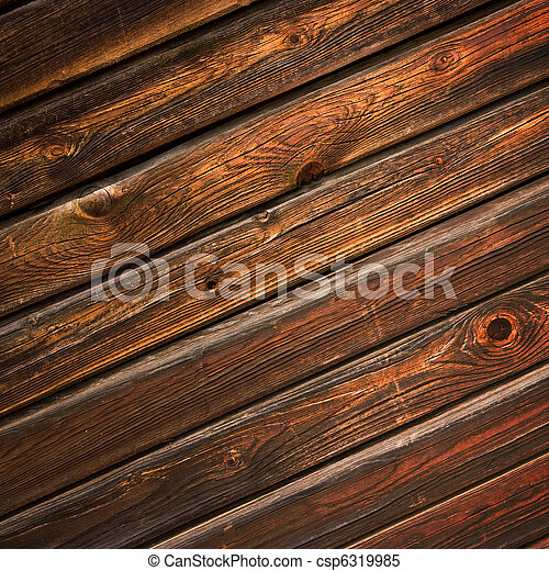 brun, bois, fond - csp6319985