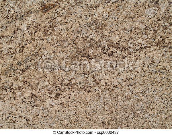 brun, bronzage, marbre, texture - csp6000437