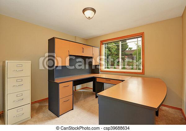 Brun bureau set noir nouveau intérieur maison meubles
