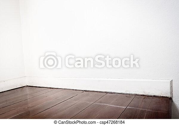 Brun, Plancher, Mur, Sombre, Perspective, Parquet, Blanc
