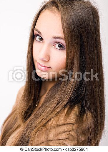 Gorgeous Brunette Teen