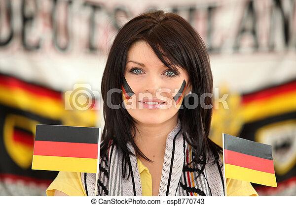 Amateur brunette german