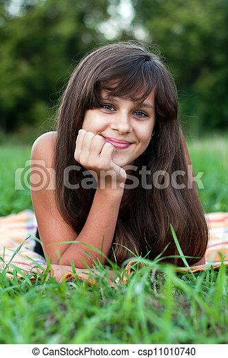 brunette-teen-girl-with