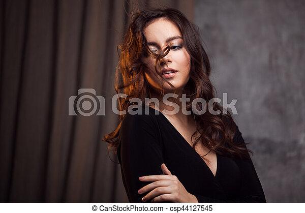 schlampige Frau