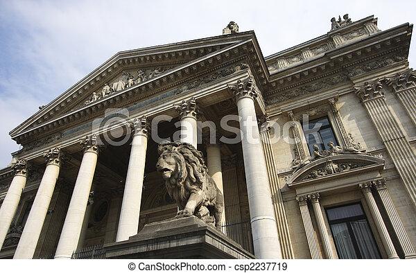 Bolsa de Bruselas - csp2237719