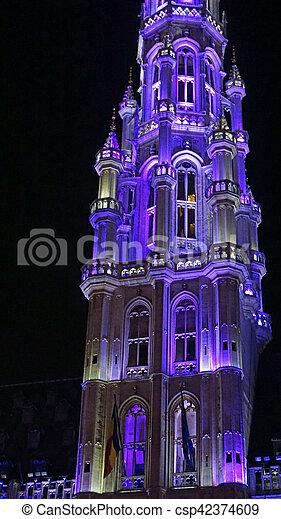 Gran lugar en Bruselas - csp42374609