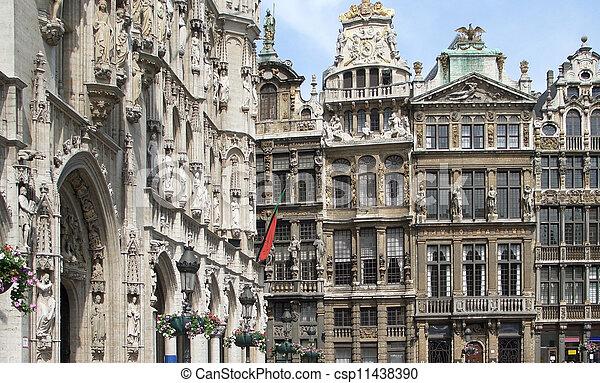 Gran lugar en Bruselas - csp11438390