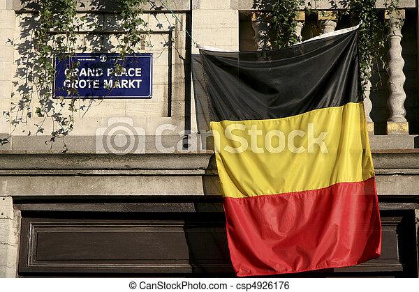 Gran lugar en Bruselas - csp4926176