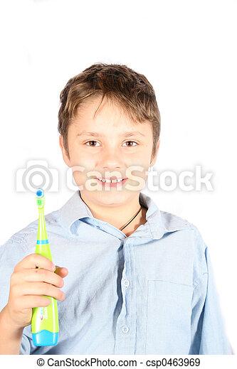 brush your teeth - csp0463969