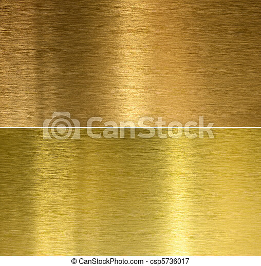 Brushed bronze and brass stitched textures - csp5736017