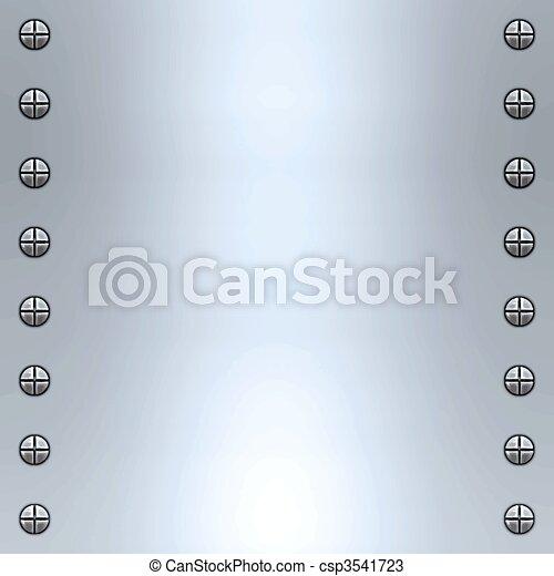 brushed metal background - csp3541723