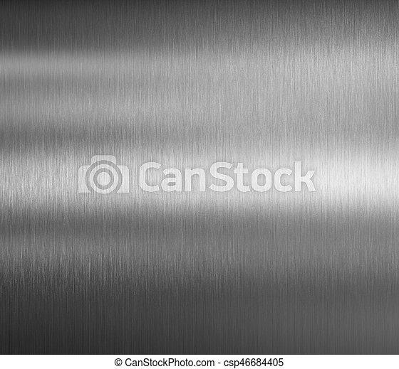 brushed metal background - csp46684405