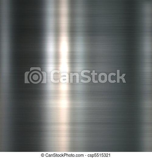 Brushed metal plate - csp5515321