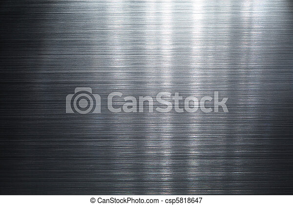 Brushed metal plate - csp5818647