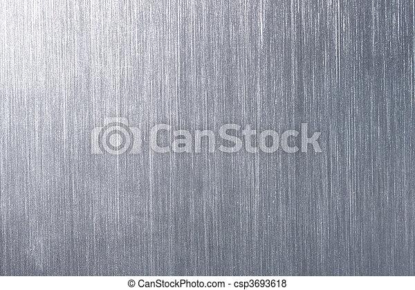 Brushed metal plate - csp3693618